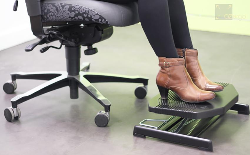 repose pied pour bureau