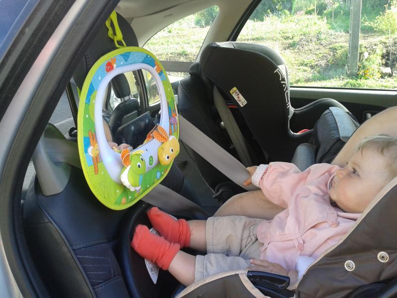 retroviseur siege bebe dos a la route