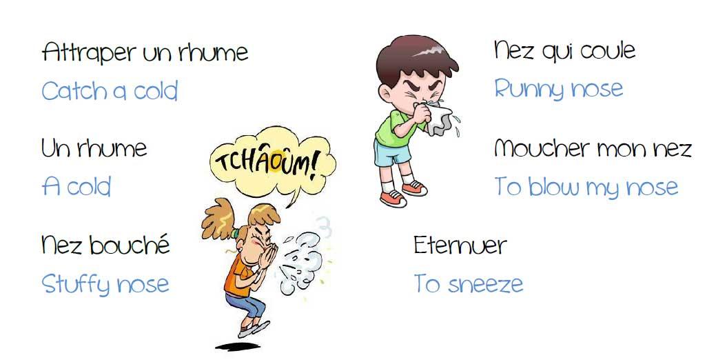 rhume anglais