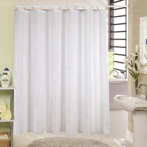 rideau blanc pailleté