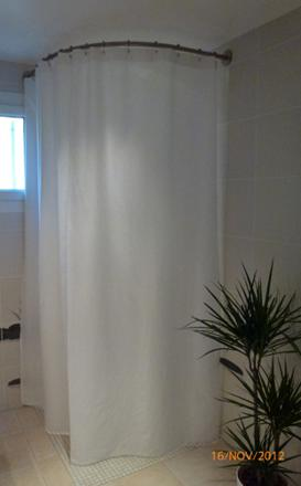 rideau douche hauteur 240