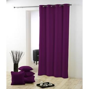 rideau violet pas cher
