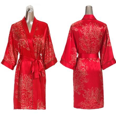 robe de chambre asiatique