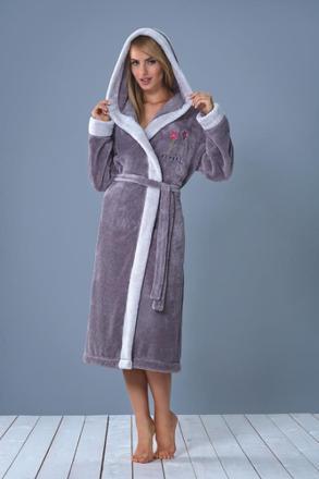 robe de chambre capuche