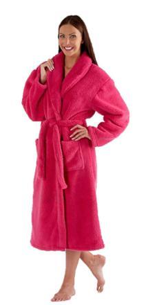 robe de chambre en polaire