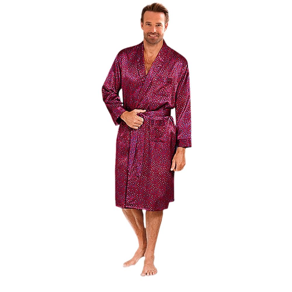 robe de chambre en satin