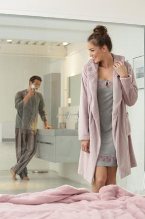 robe de chambre moderne femme