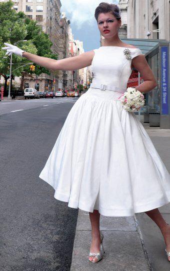 robe de mariée année 50 60