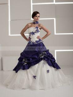 robe mariée pas cher couleur