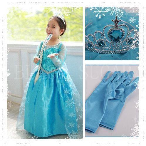 robe reine des neiges pas cher