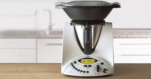 robot culinaire chauffant thermomix