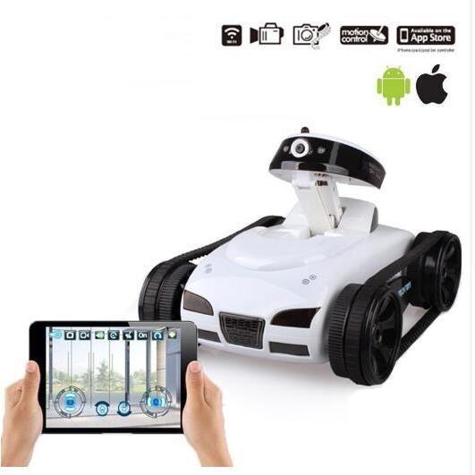 robot télécommandé avec camera