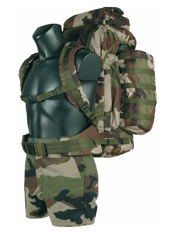 sac a dos camouflage militaire