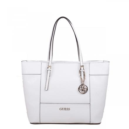 sac à main blanc guess
