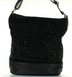 sac a main noir strass