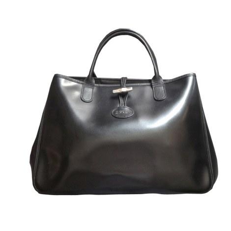 sac cuir noir longchamp