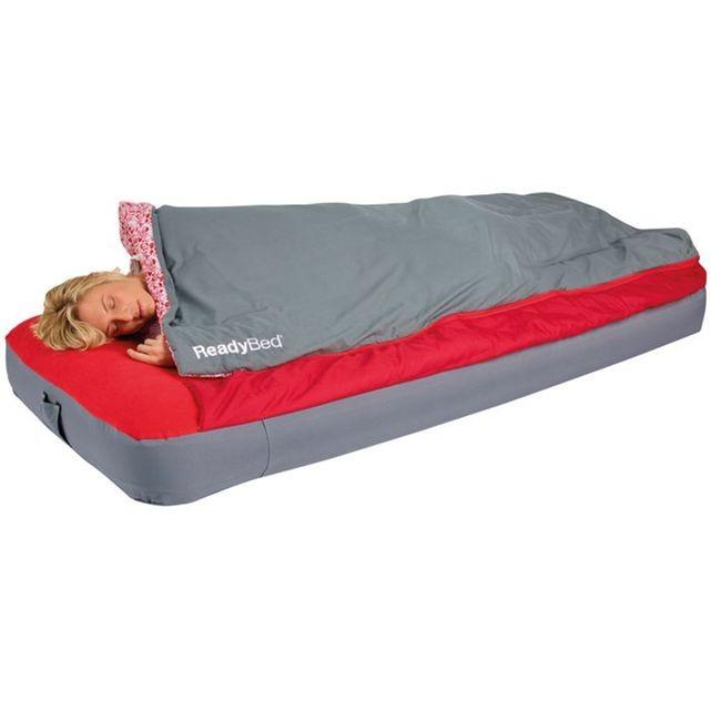 sac de couchage avec matelas