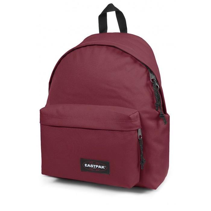 sac eastpak rouge bordeaux
