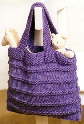 sac en tricot a faire soi meme