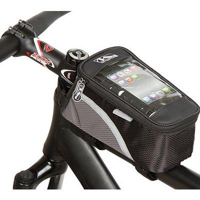 sacoche vélo pour smartphone sur cadre