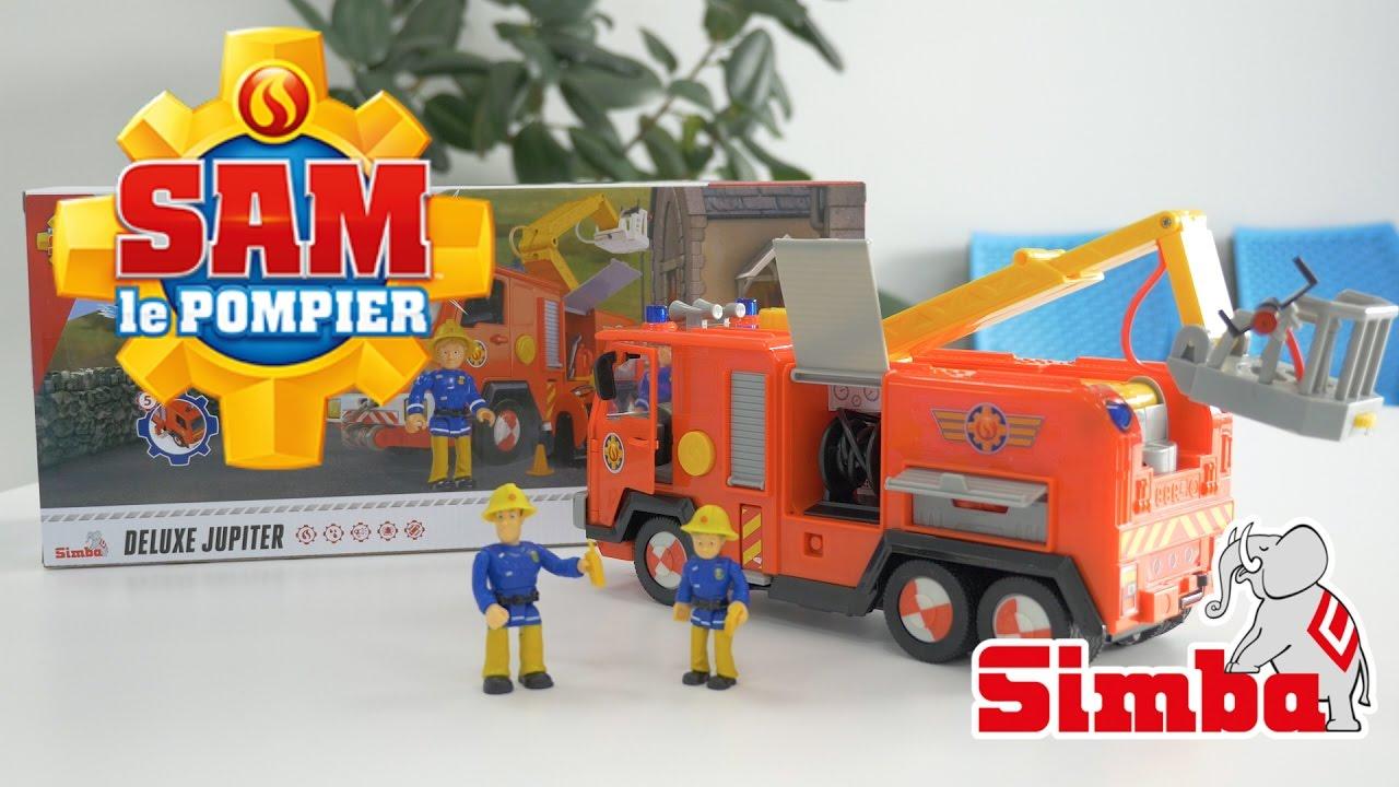 sam le camion de pompier