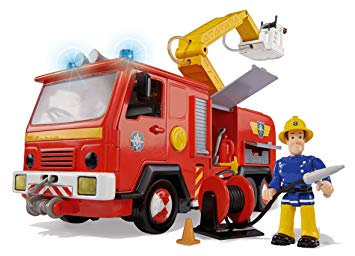 sam le pompier camion smoby