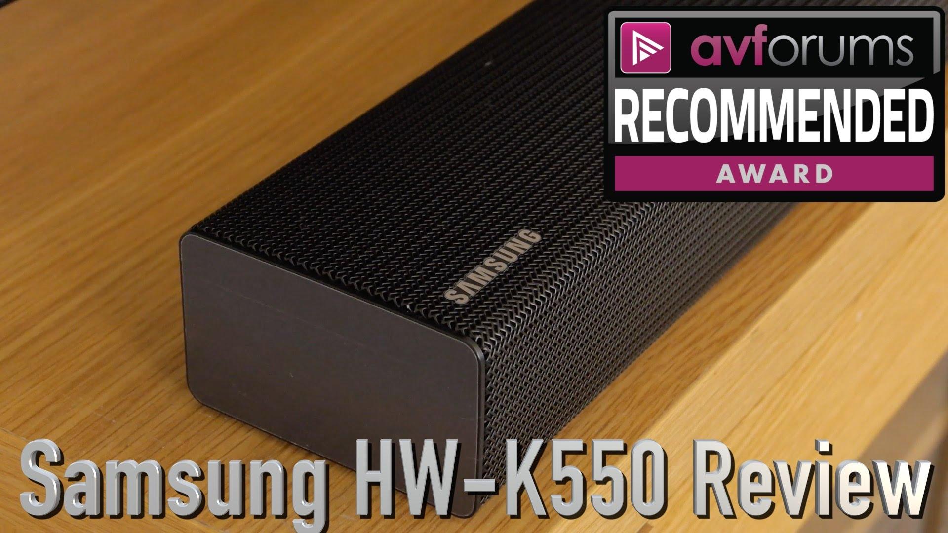 samsung hw k550 test