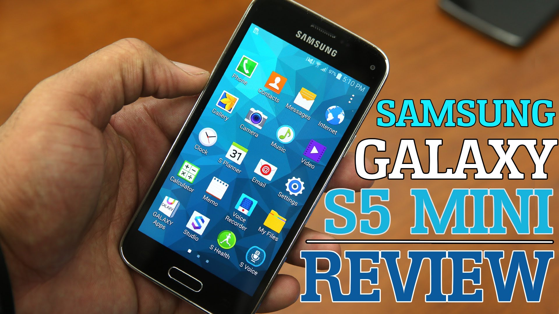 samsung s5 mini test