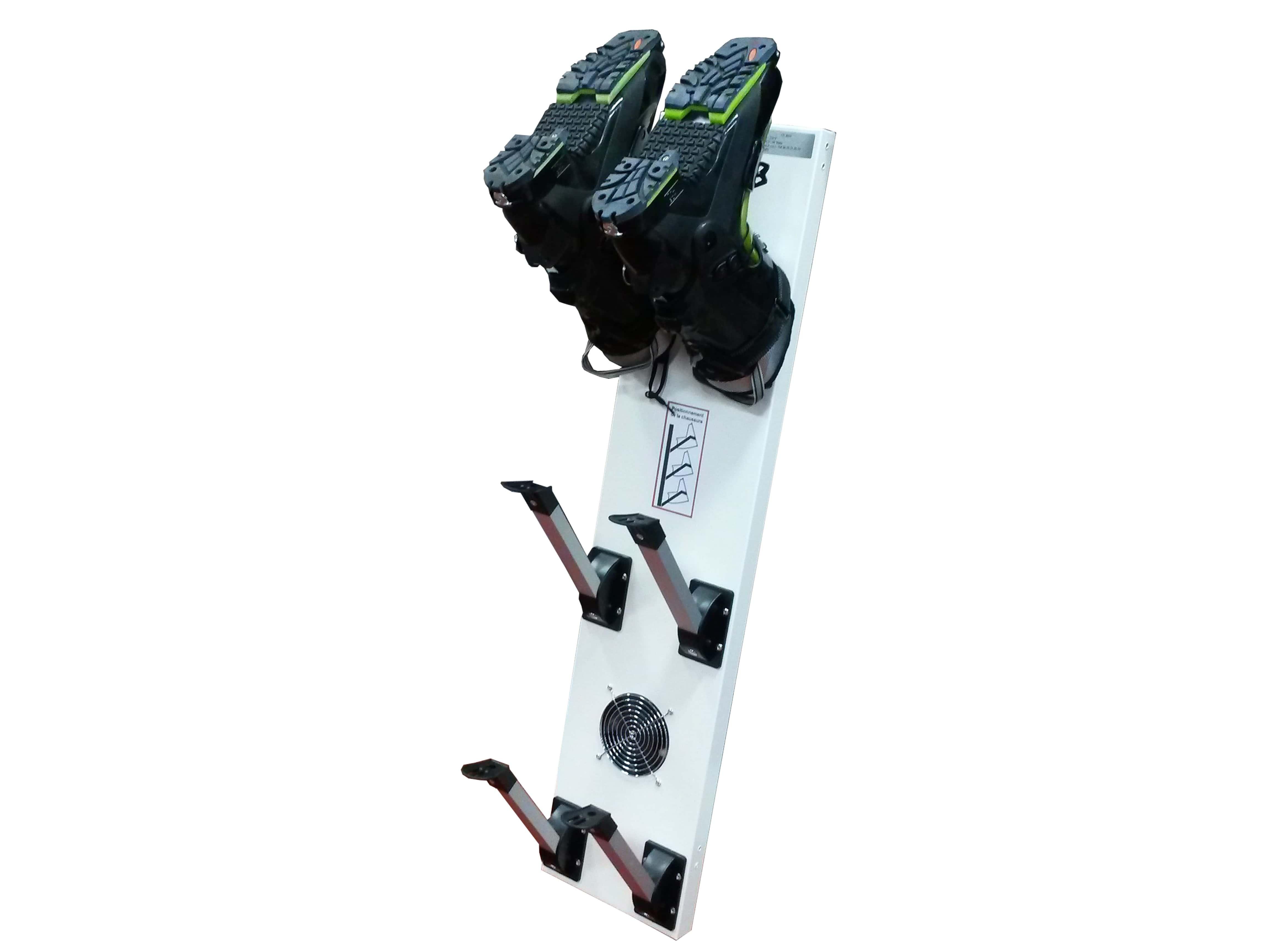 seche chaussures de ski mural