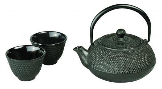 service à thé fonte