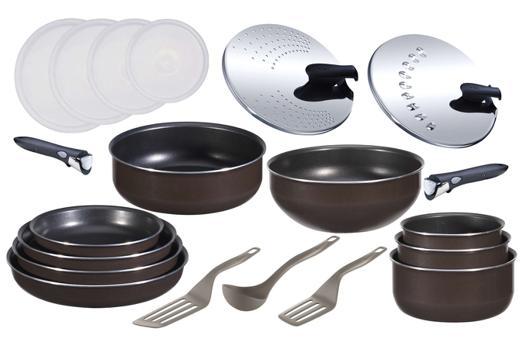 set casserole induction tefal