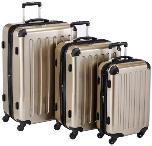 set de valises rigides polycarbonate