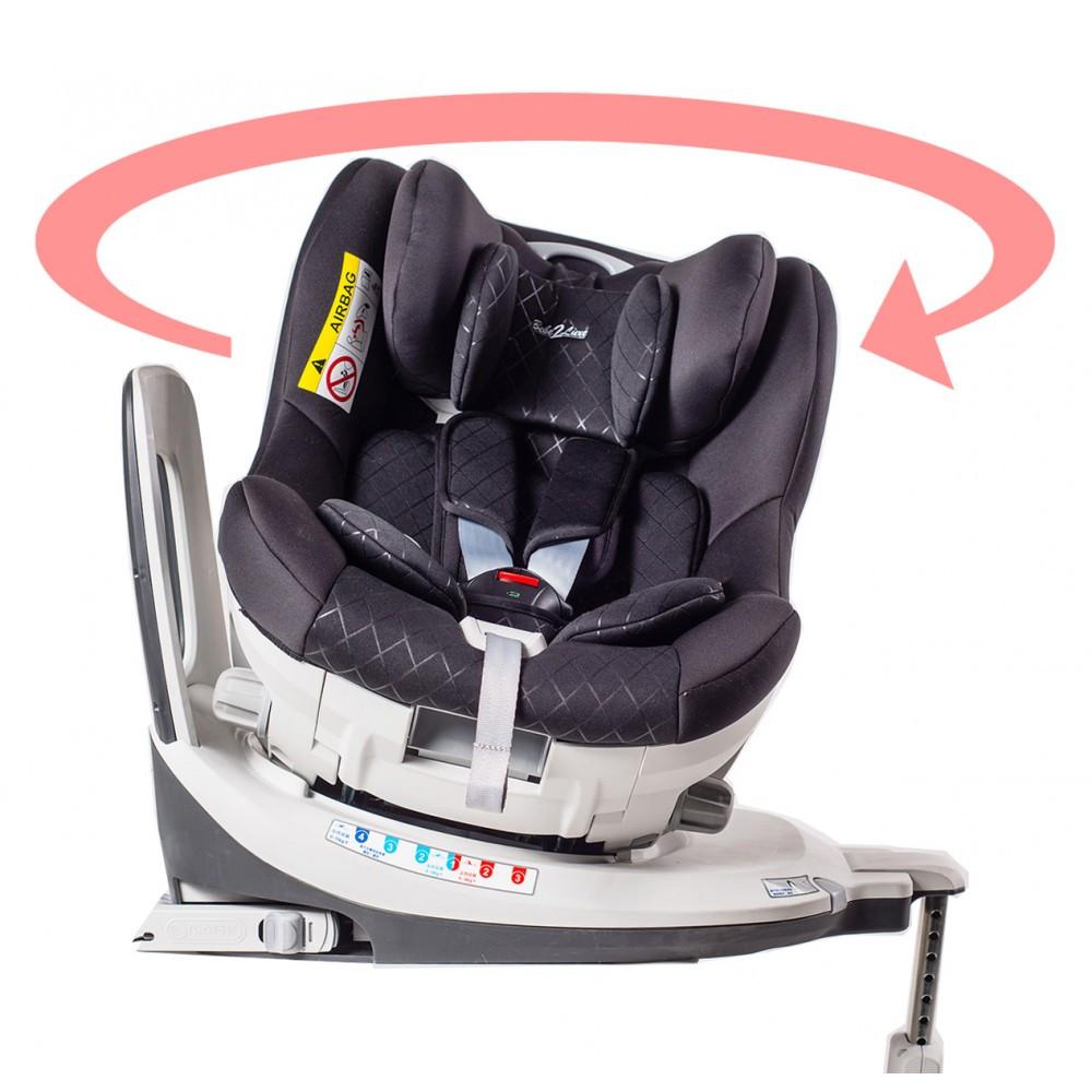 siege auto pivotant des la naissance