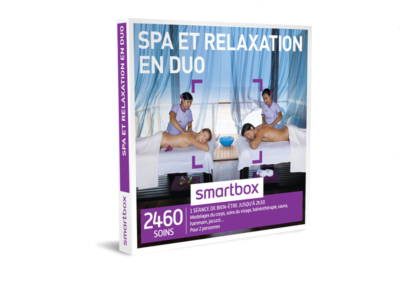 smartbox spa pour 2