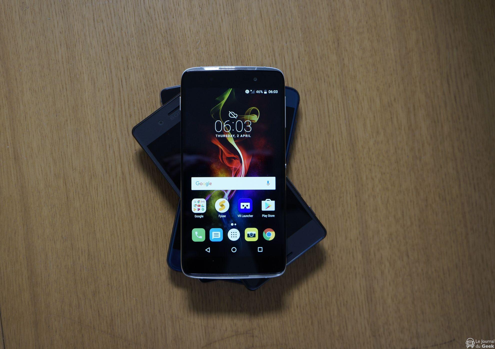 smartphone à 300