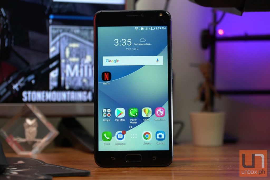 smartphone asus test