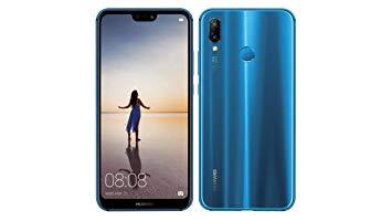 smartphone bleu