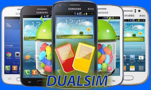 smartphone double sim samsung