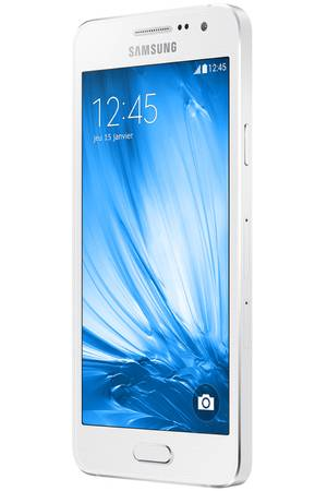 smartphone samsung a3 blanc