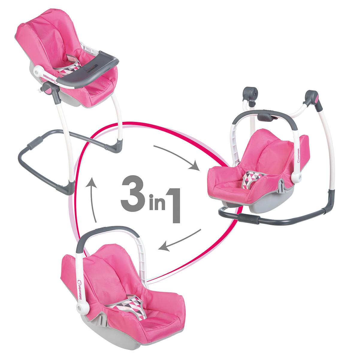 smoby bebe confort 3 en 1