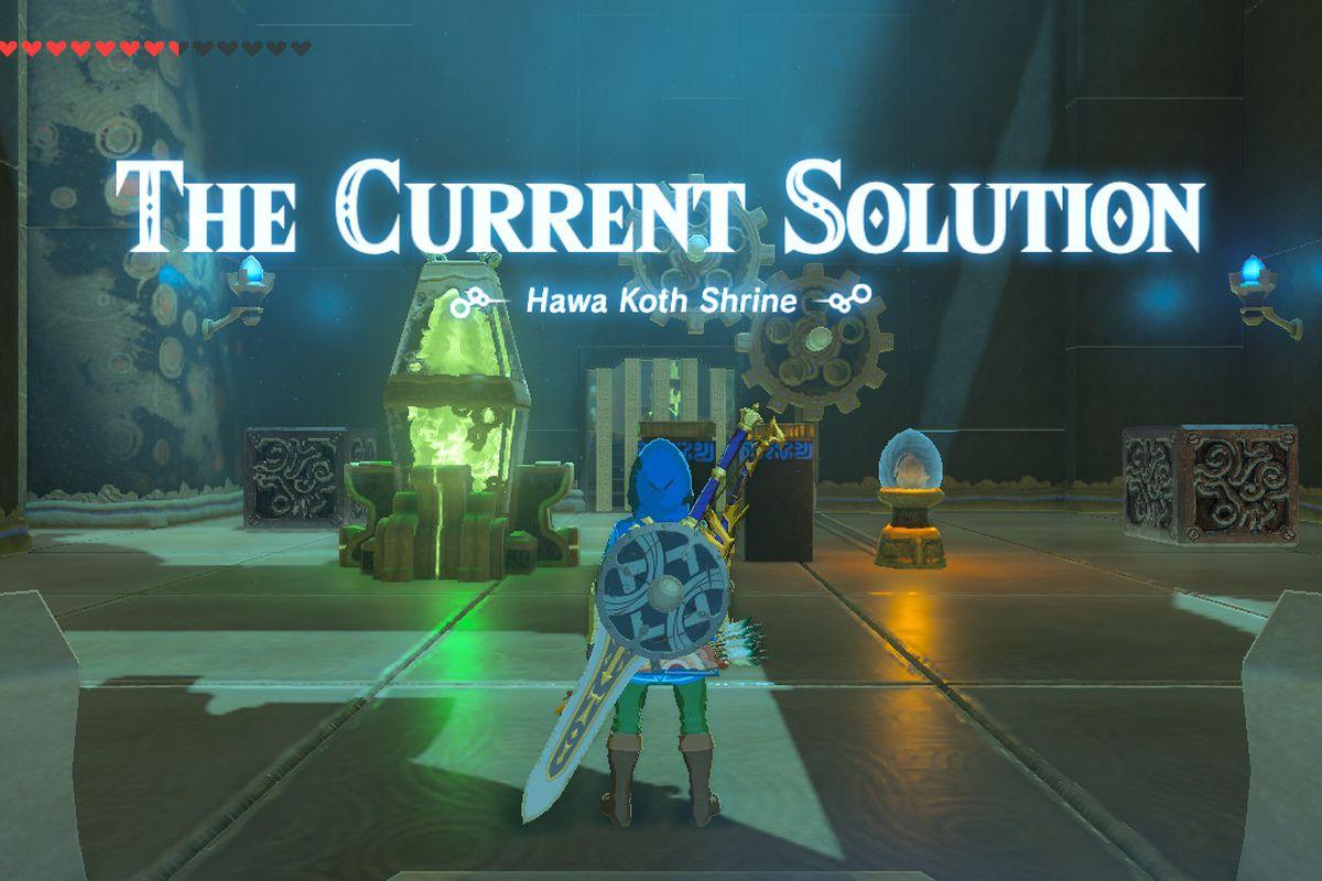 solutions zelda
