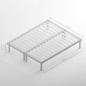 sommier double 160x200