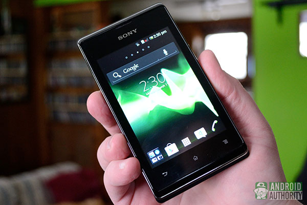 sony xperia e test