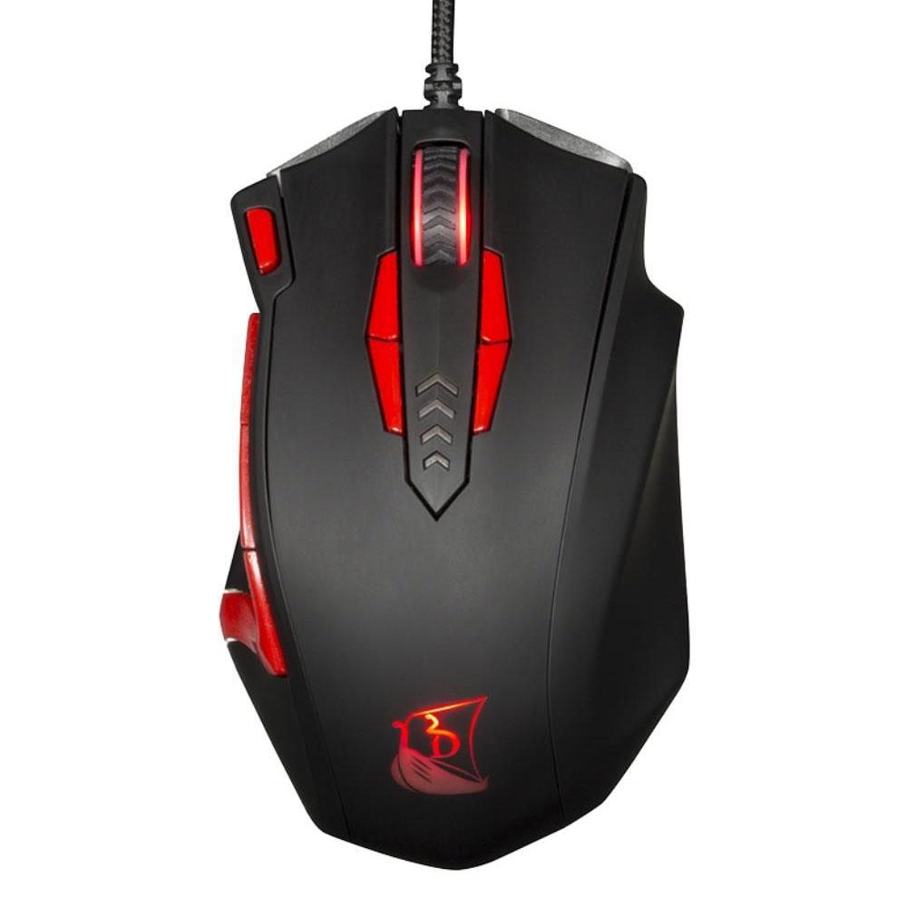 souris gamer rouge