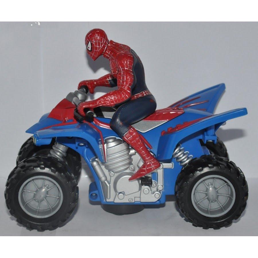 spiderman et la moto