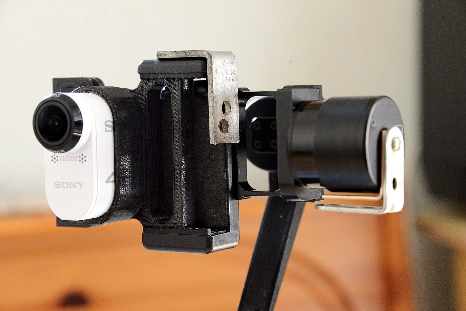 stabilisateur sony action cam
