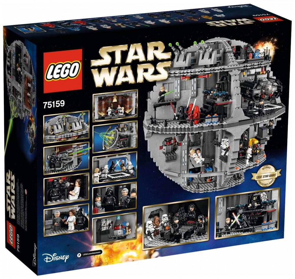 star wars étoile de la mort lego