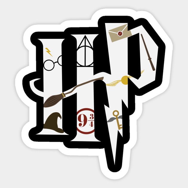 sticker harry potter