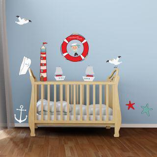 stickers marin chambre bébé