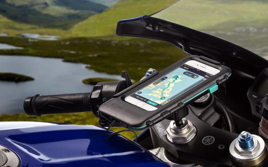 support de telephone moto